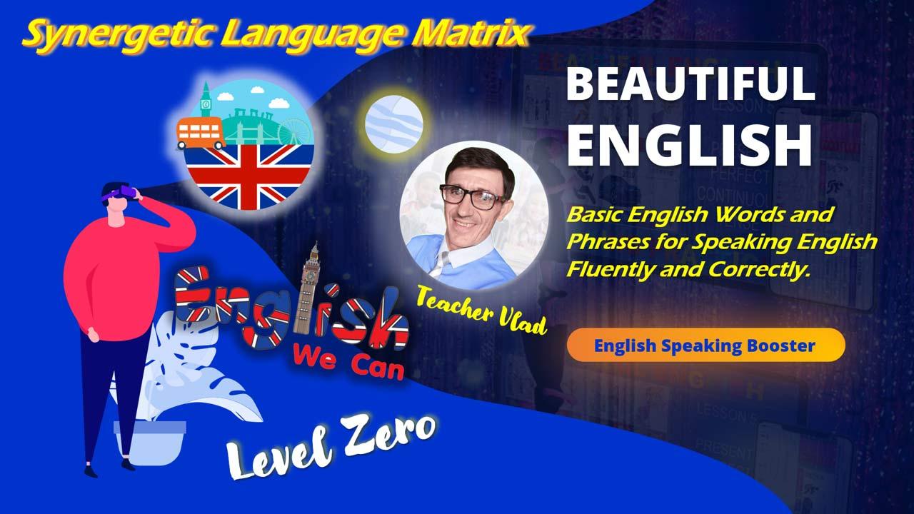 Basic English Words and Phrases. Level Zero